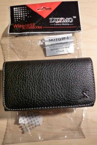 My Gear - iPhone Black Leather Texture Holster Case for Under $3 1