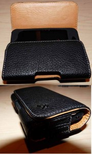 My Gear - iPhone Black Leather Texture Holster Case for Under $3 2