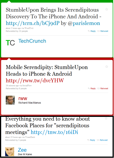Serendipity to Overtake Curation as This Year's Most Overused Word in Tech 1