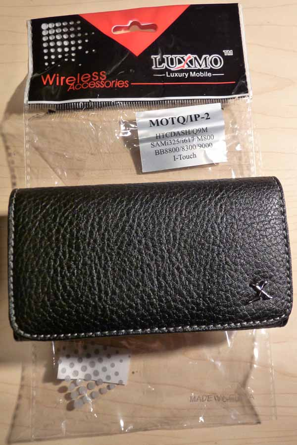 My Gear – iPhone Black Leather Texture Holster Case for Under $3