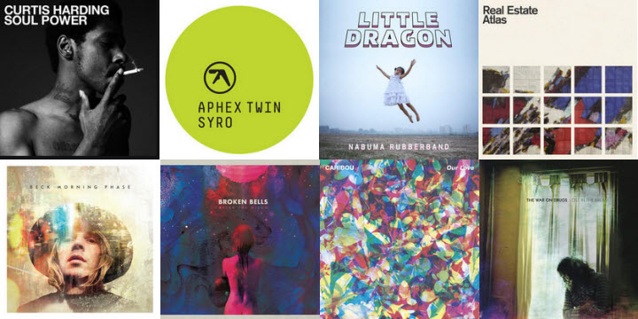 My Favorite Music Releases of 2014