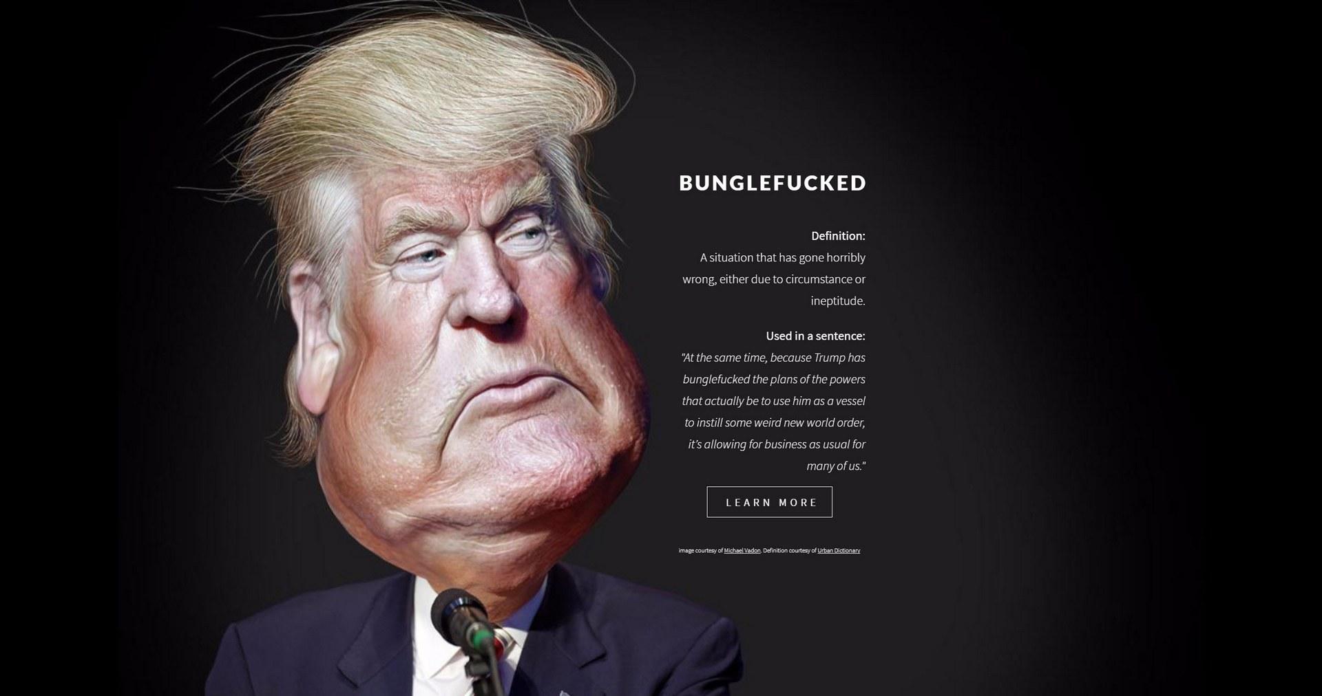 bunglefucked.com website created with Carrd.co